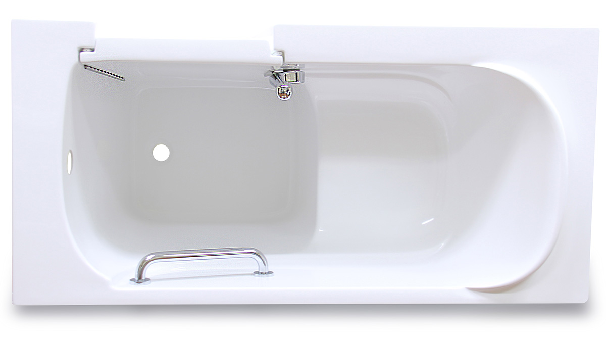CARE 2653 Walk in Tub Top View