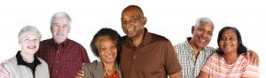 Happy Senior Couples