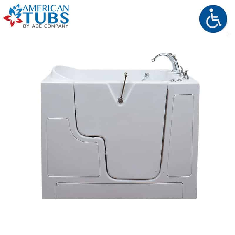 American Tubs LOVE Series 3052 Wheelchair Accessible Soaker Walk-in Tub