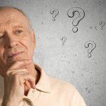 Senior Man Questioning