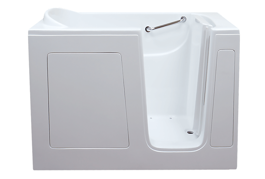 CARE 3052 walk-in tub with door open