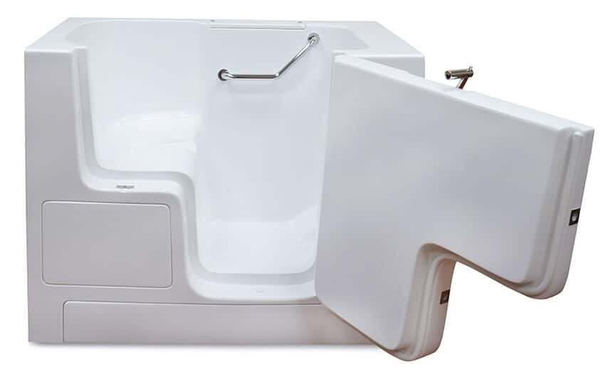 LOVE 3252 walk in tub with door open