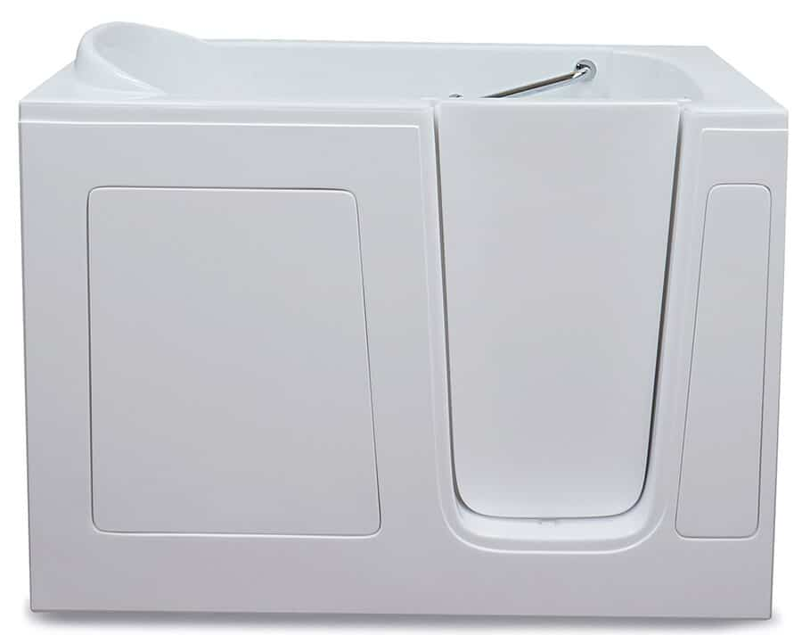 CARE 3054 Walk-in tub with door closed