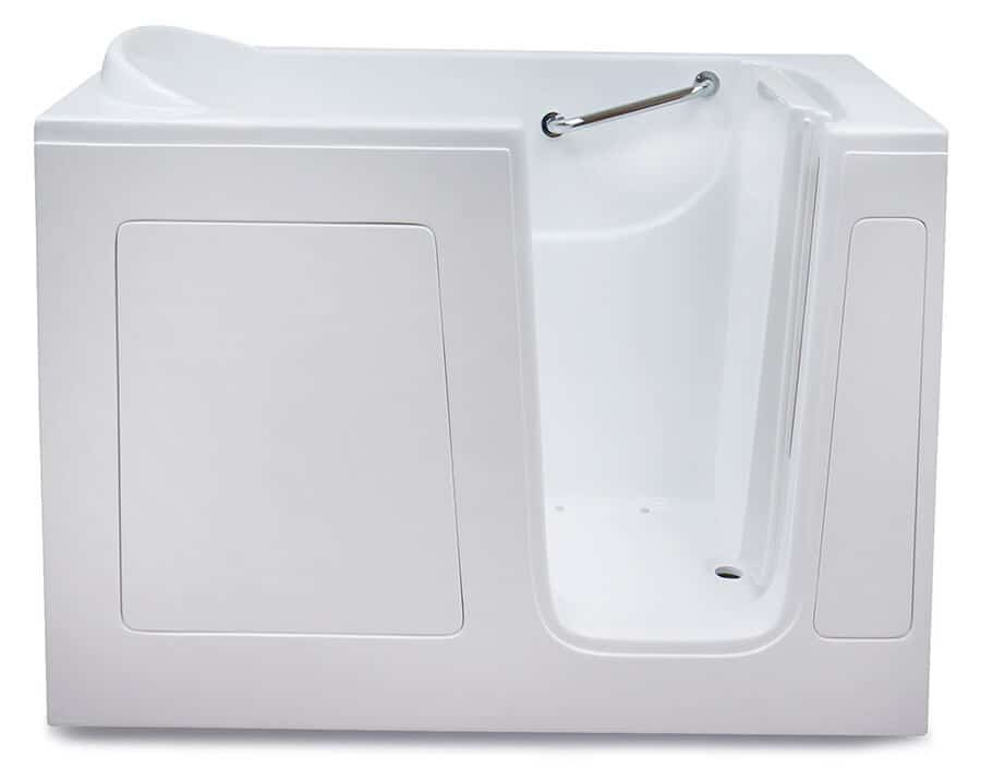 CARE 3054 walk in tub with door open