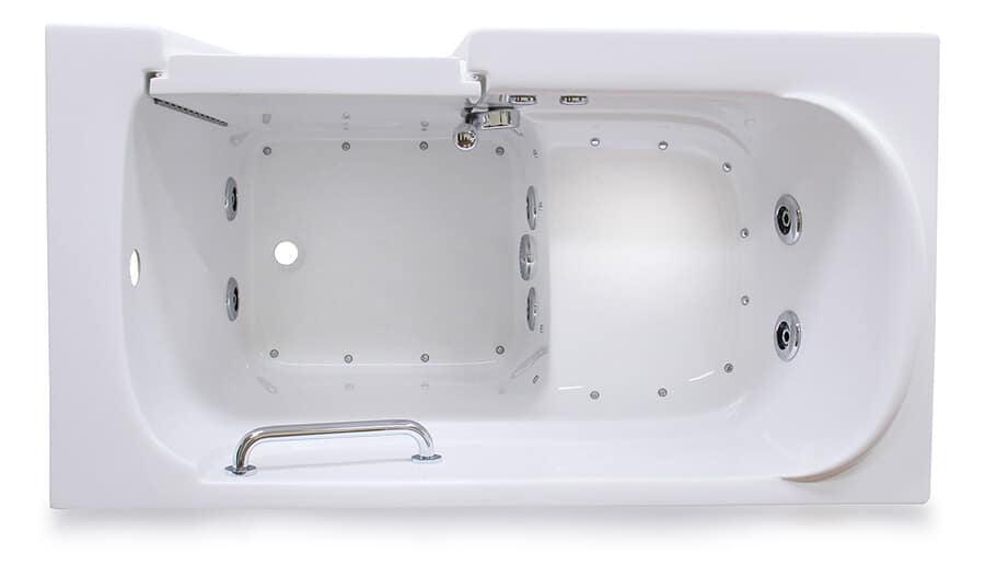 CARE 3054 walk in tub, top view